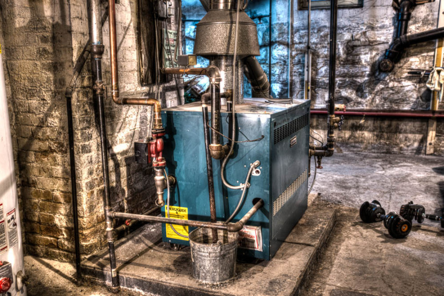 Enough with the COLD!!… Our Boiler Needs A Break (just a foto Friday)